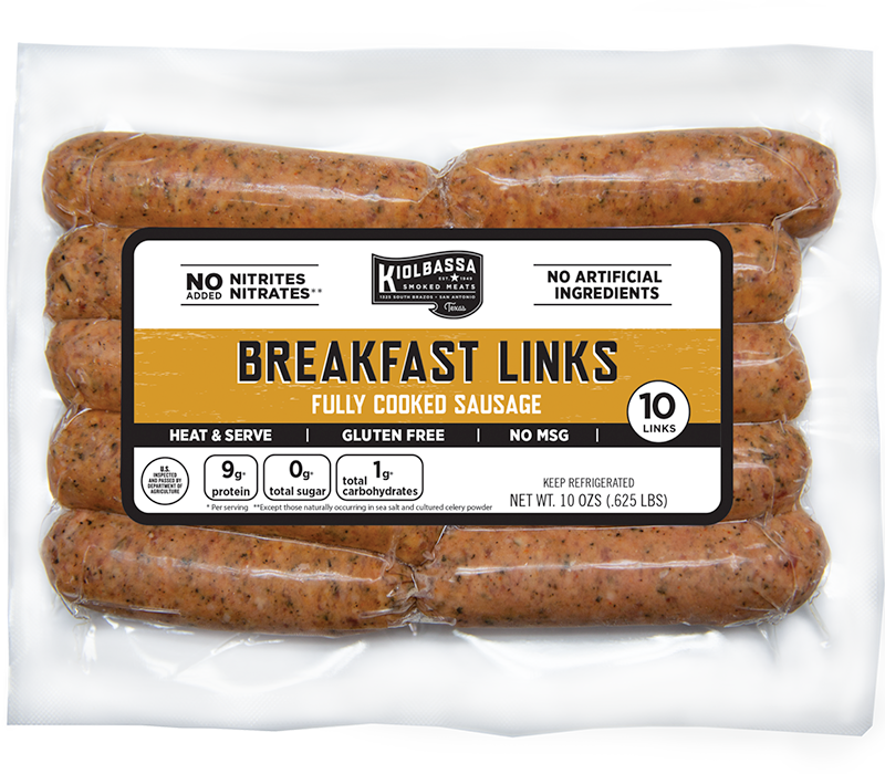 Breakfast Links Fully Cooked Sausage